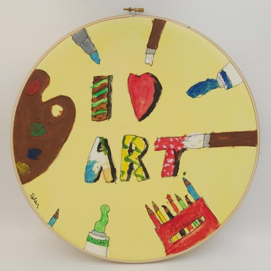 Comfort & Joy Exhibition - Art is My Time