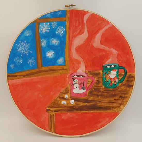 Comfort & Joy Exhibition - Cocoa for Christmas
