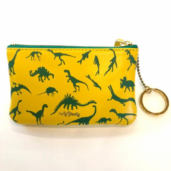 Mini Zip Pouch Yellow - Dino