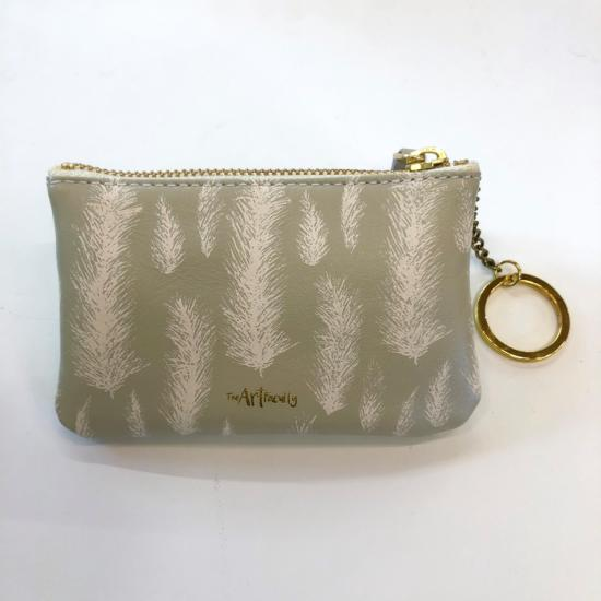 Mini Zip Pouch- Feather
