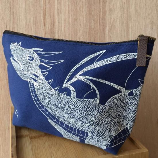 Dragon Pouch – Blue (Original)