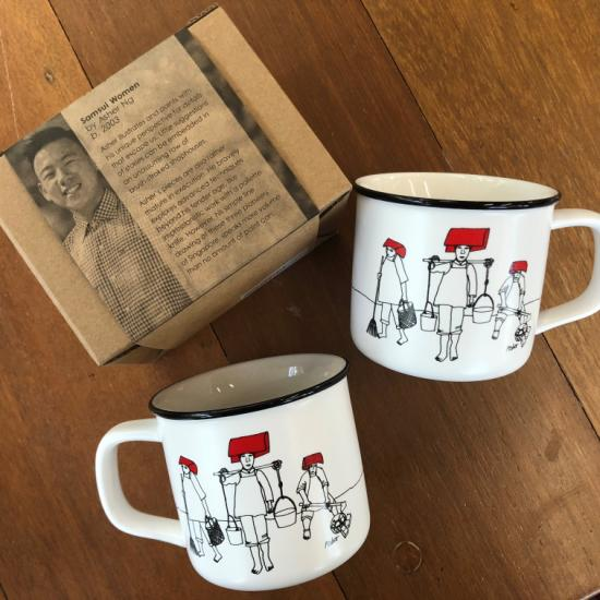 Ceramic Mug-Samsui Women
