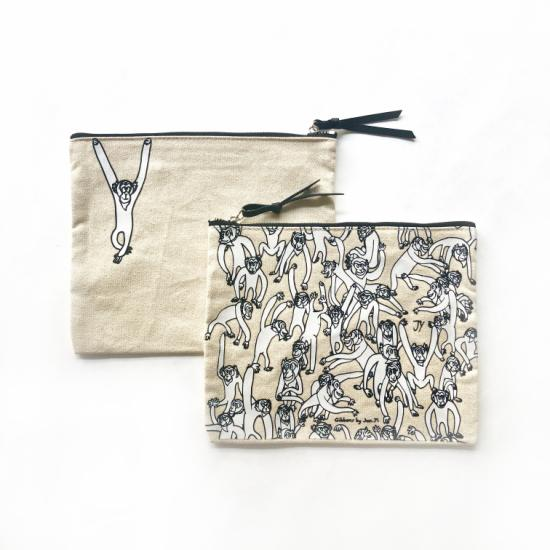 Gibbons Pouch – Natural Canvas