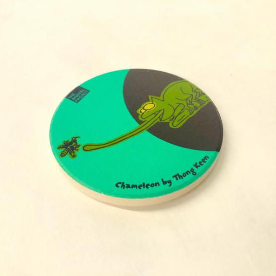 Fridge Magnet - Chameleons by Thong Keen