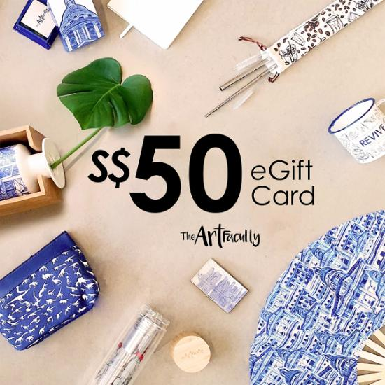 e-Gift Card - $50 (redemption at www.theartfaculty.sg)