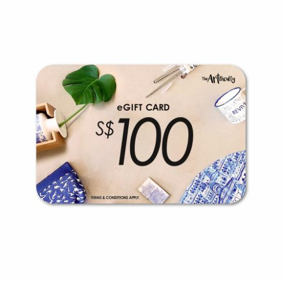 e-Gift Card - $100 (redemption at www.theartfaculty.sg)