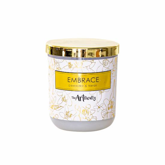 Embrace Soy Candle - Neroli Flowers