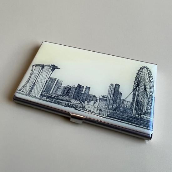 Business Card Case - Marina View