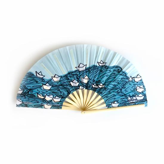 XL Fan – Paper Boats