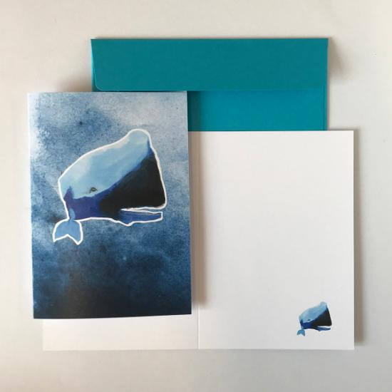 Greeting Card - Sperm Whale