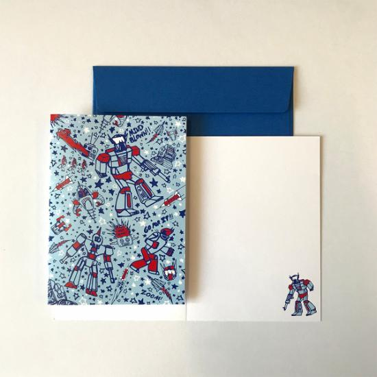 Greeting Card - Robots
