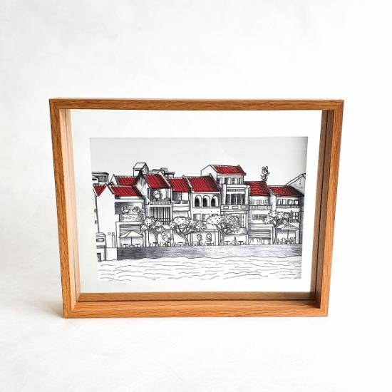 A5 Floating Frame - Boat Quay