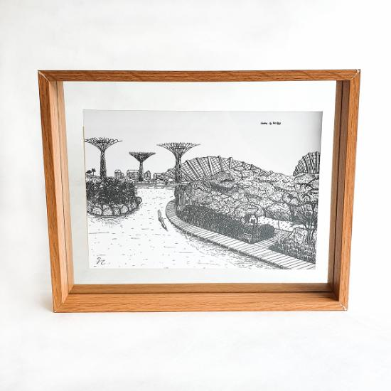 A5 Floating Frame - Gardens by the Bay
