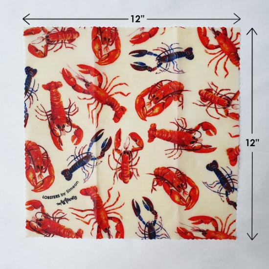 Eco Beeswax Food Wrap – Lobster