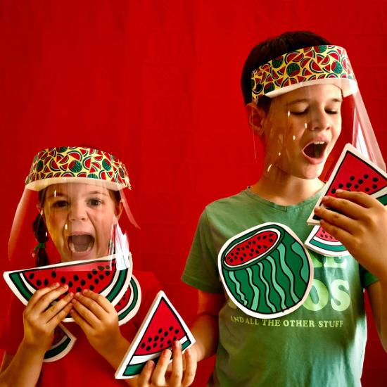 Face Shield (Kids) – Watermelon
