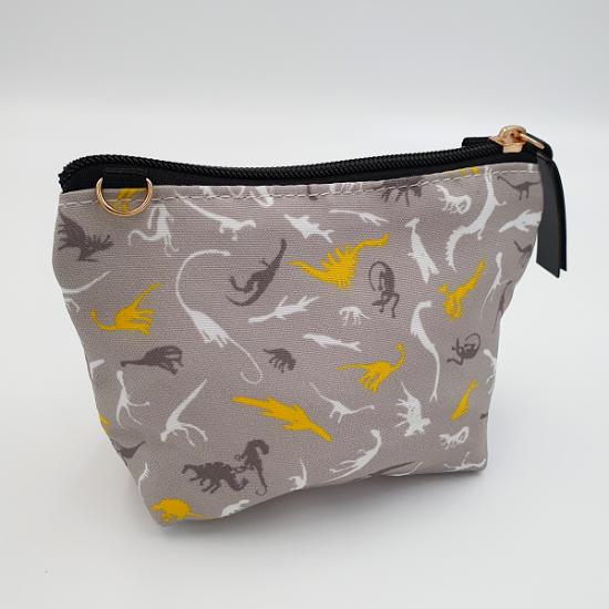 Mini Pouch - Dino Grey