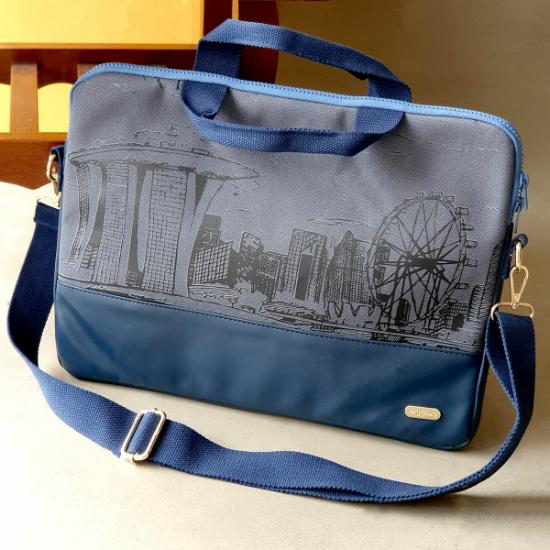 Laptop Bag  - Marina Cityscape