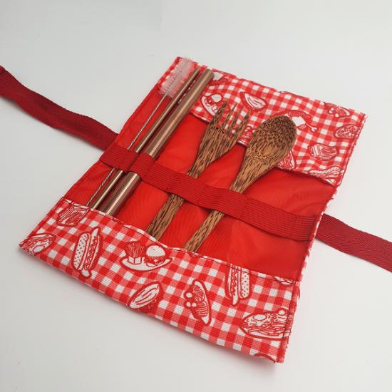 Cutlery Set with Pouch - Comfort Food