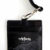 Leather Cardholder/ID Lanyard (Black) - Paper Boat