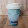 Sustainable Bamboo Fibre Go Cup 400ml - Sperm Whale