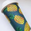 Bamboo Fibre Cup 400ml  – Pineapple