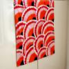 Tea Towel - Red Bivalvia