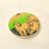 Fridge Magnet - Lions by Jun-Yi
