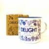 DELIGHT - Scented Candle inspired by Bandung(350ml Enamel Mug; 90hrs)