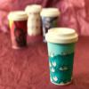 Sustainable Bamboo Fibre Go Cup 400ml - Paper Boats