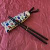 Sustainable Compact Ebony Chopstick Set - Sushi