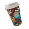 Bamboo Fibre Cup 400ml - Hawker Food