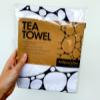 Tea Towel - Black Adipocytes