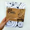 Tea Towel - Black Calliostoma