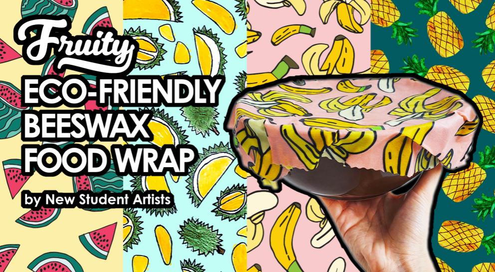 fruity food wrap