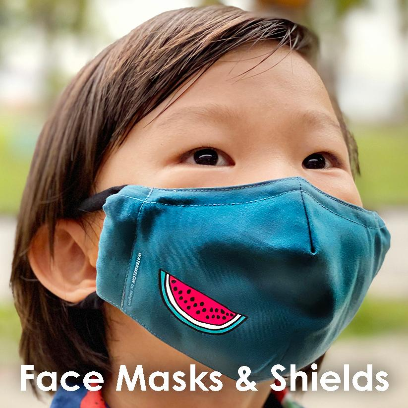 Face Mask & Shields