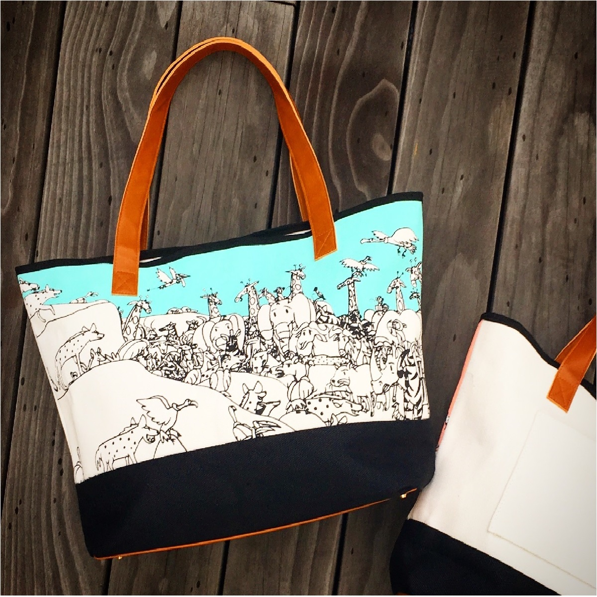 Resort Tote – Turquoise