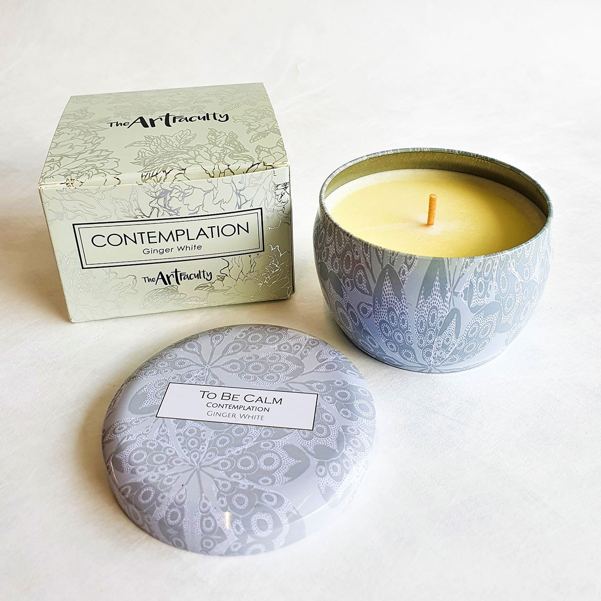 Contemplation Mini Soy Candle - Peony