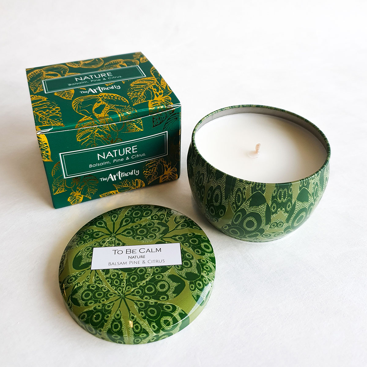 Nature Mini Soy Candle - Monstera Adansoni