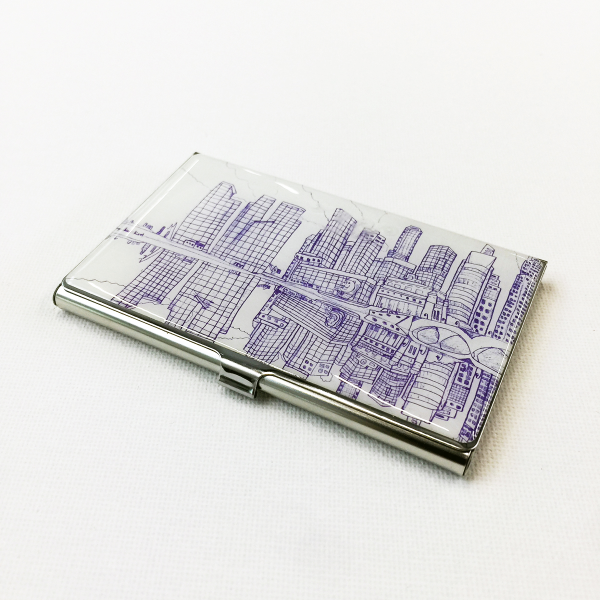 Business Card Case - Reflections
